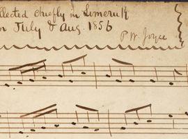 PW Joyce's NLI Music Manuscripts, 1856–1912